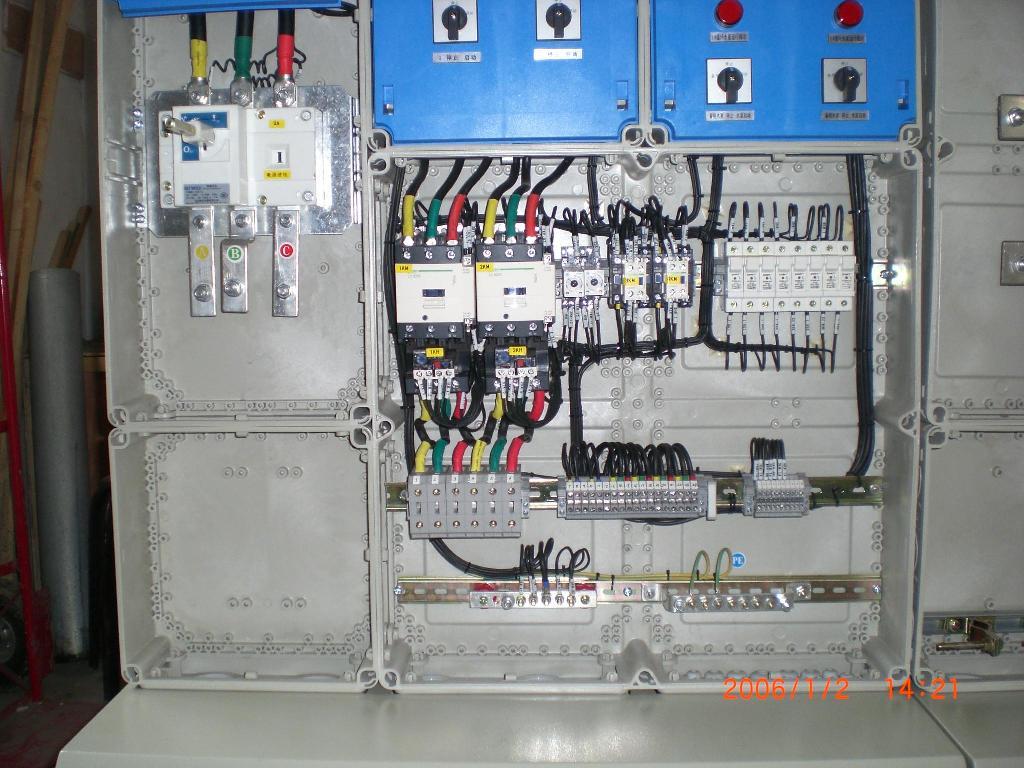 家里220v配电箱接线图