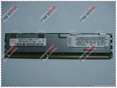 46C7483 16GB 1X16GB Quad RANKX4 PC3-8500 CL7 ECC DDR3 1066MHZ Rdimm