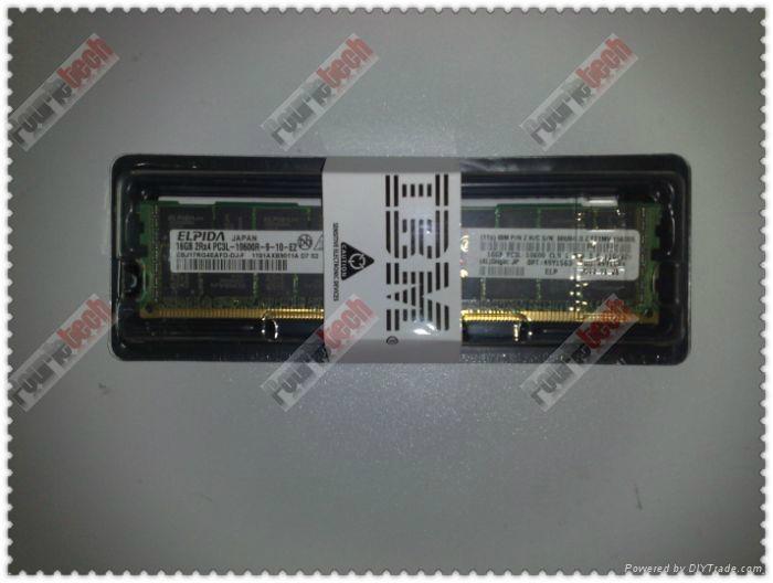 49Y1563 49Y1565 IBM 16GB(1X16GB) 1333MHZ PC3-10600 CL9 VLP ECC REG DDR3 SDRAM  5