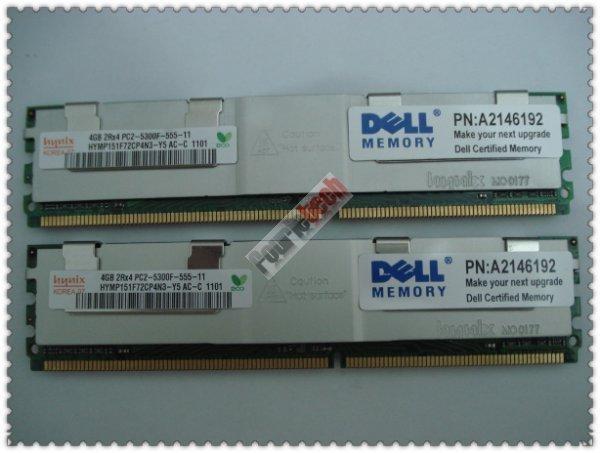 A2146192 8GB (2x 4GB) PC2-5300 240-PIN FBDIMM RAM module kit 1