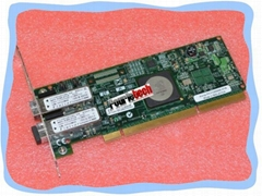 IBM 5759 03N5029 10N8620 Emulex LP11002 PCI-X 266 Dual FC 4 Gbit/s LC HBA