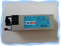 720478-B21 723595-101 723594-001 754377-001 DPS-500AB-13A HPG9 500W Power Supply
