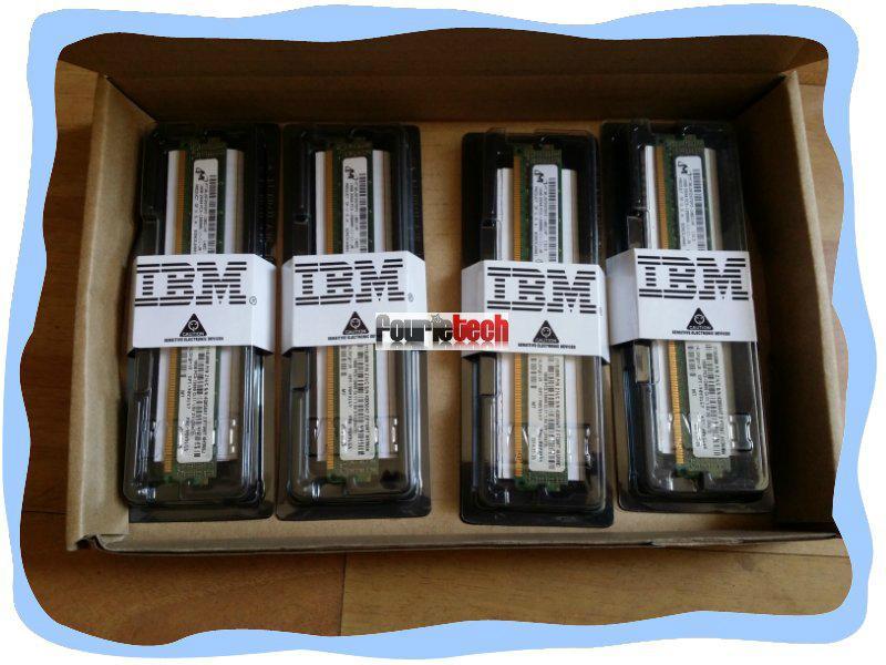 44T1594 2GB 44T1596 4GB PC3-10600 CL9 ECC DDR3 1333MHz VLP RDIMM 1