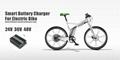 E-bike smart battery charger