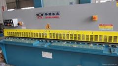 富力4米液壓擺式剪板機
