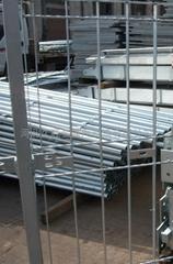 热镀锌格栅板防护栏