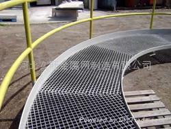 异形钢格栅板走道平台 3