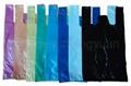 HDPE Plain Plastic T-Shirt Retail