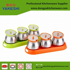 3 in 1 stainless steel kitchen spice rack