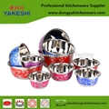 customized stainless steel bowl with