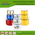 gift and premium stainless steel salad mixing pot