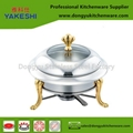 chafing dish chafing dish fuel with gold stand
