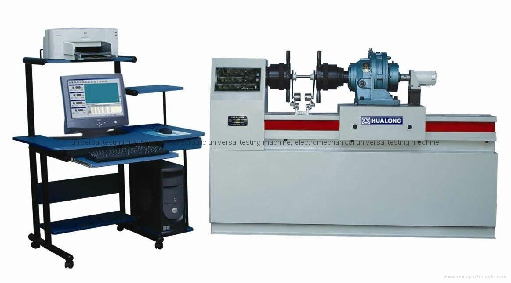 Testing Electronic Products For Companies : Torsion testing machine wnj series hualong albania