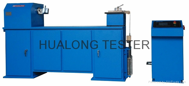 Optical fiber cable tensile & crush testing machine 3