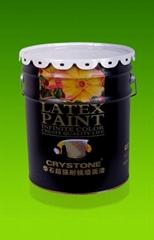 华石高耐候墙面漆|弹性涂料