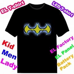 EL Equalizer t-shirt T-qualiser t-shirt flash t-shirt EF243