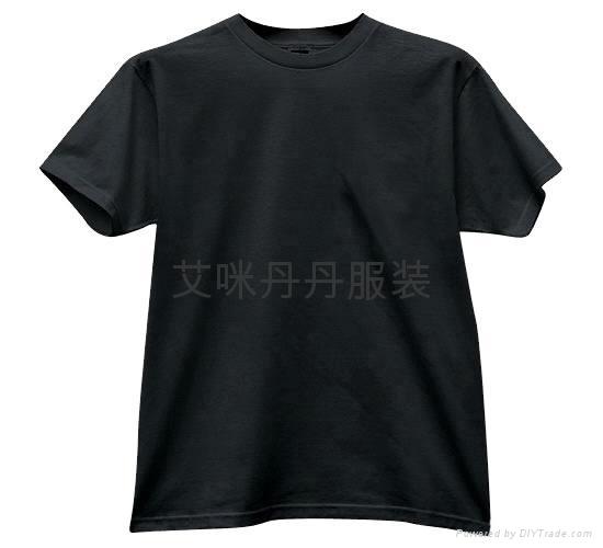 圆领全棉印花T恤  4