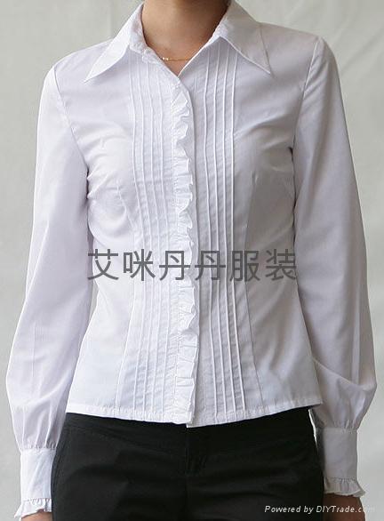 女式衬衣衬衫 2