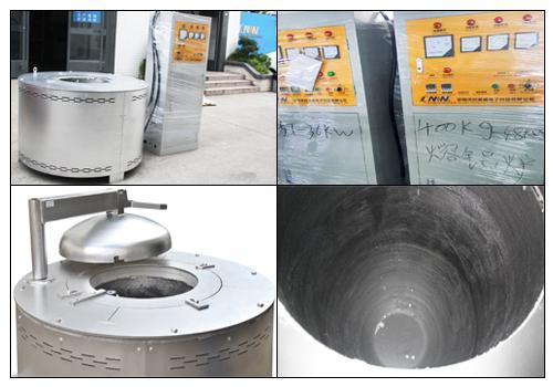 創美威五金壓鑄鋁合金熔爐熔鋁加熱爐大型熔鋁爐 2