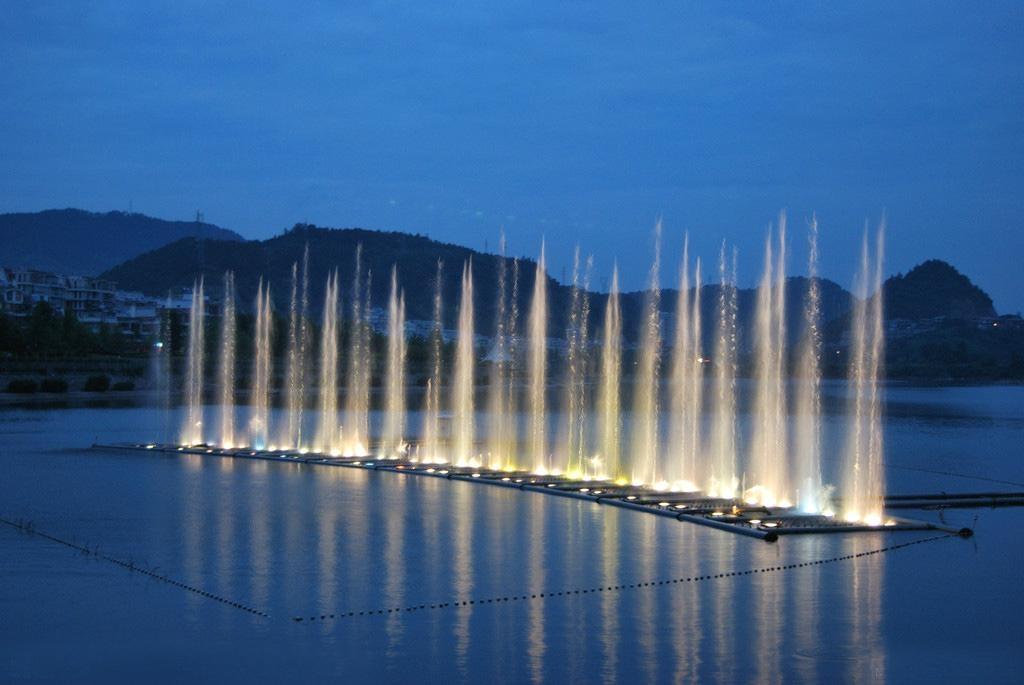 make water music fountain  3