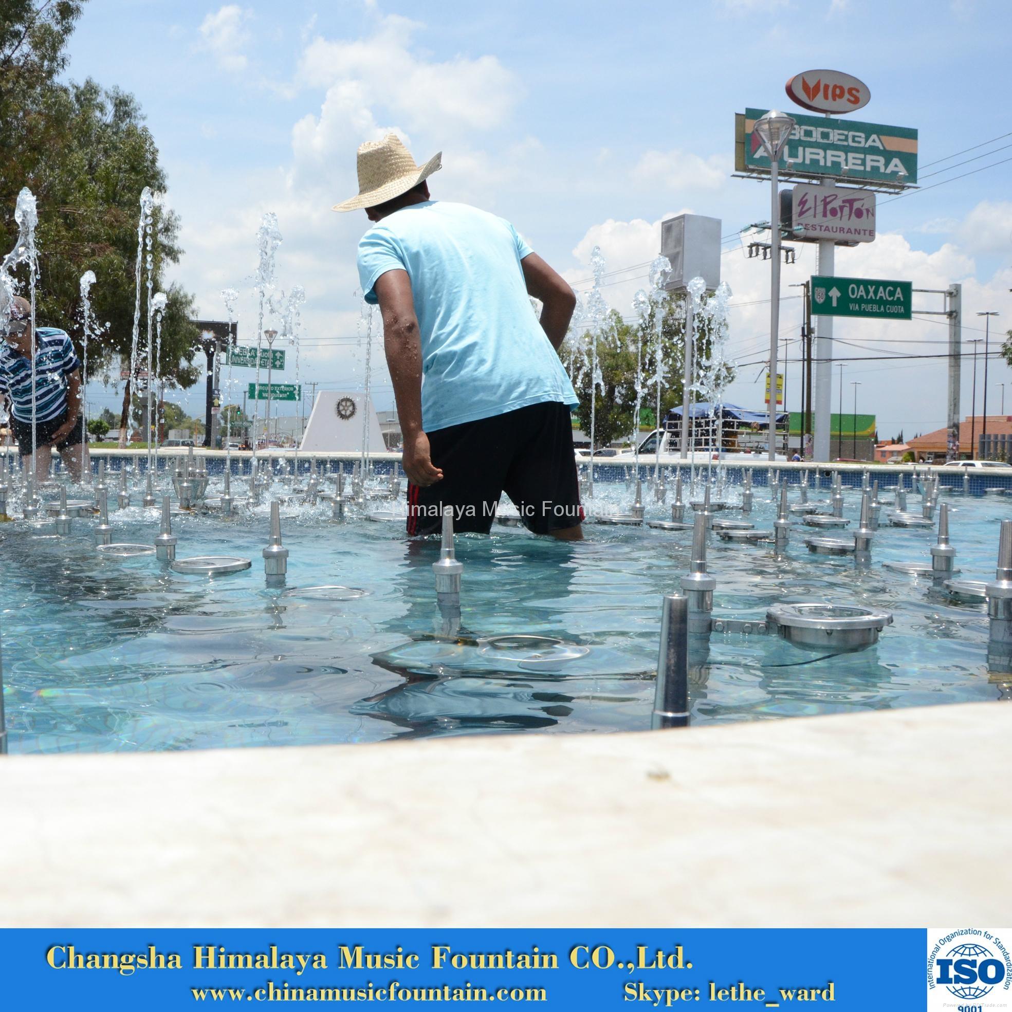City-square Music Fountain 3