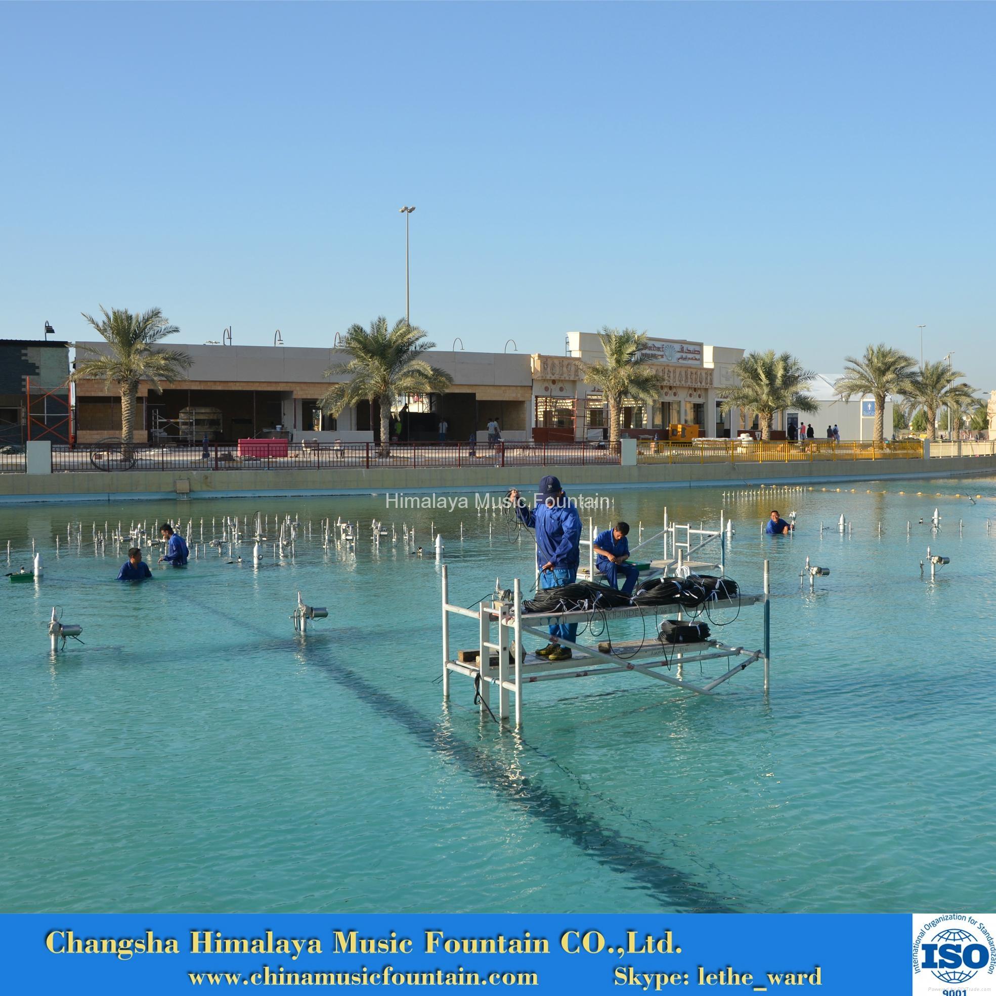 Outdoor Music Fountain 4