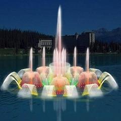 Park Dancing Music Fountain