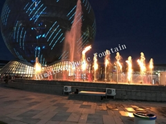 Water Fire Fountain With Music