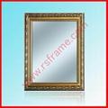 供應特價木質金色樹脂花邊鏡框