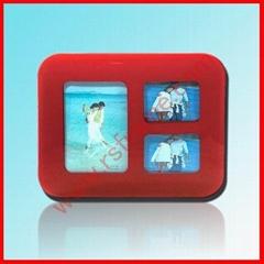 供应球面丝印玻璃多孔创意相框