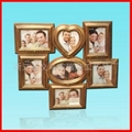 供應白色木製婚紗影樓創意組合相框 3
