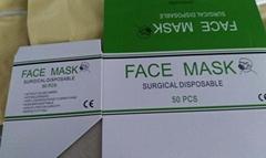 FACE MASK SURGICAL DISPO