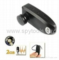 2GB Compact Size Bluetooth Earphone Headset Spy Hidden Digital Video PC Camera D