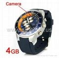 4GB Waterproof Sport Watch with Hidden