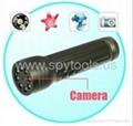 LED Flashlight 2.0 MP HD Spy Digital Video Camera Builti-in 4GB Micro SD Card