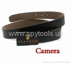 Leather Belt Strap Spy Camera Digital Video Recorder Camcorder with USB Cable