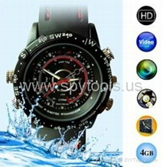 4GB HD Waterproof Spy Watch Camera Digital Video Recorder with Hidden Camera (Hot Product - 2*)