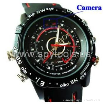 4GB HD Waterproof Spy Watch Camera Digital Video Recorder with Hidden Camera 2