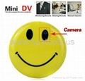 Smile Face Pin Mini Digital Video