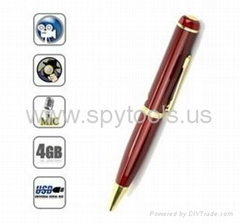 4GB Pen Hidden Spy Camera Camcorder Password USB Video Recorder DVR