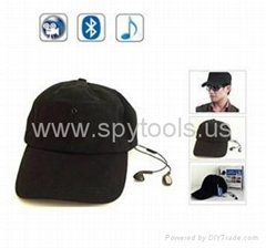 Mini Bluetooth Spy Cap/Hat Camera DVR Camcorder with MP3 Function & Remote Contr