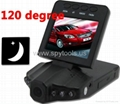 "2.5"" car DVR  TFT LCD Car Camera with"