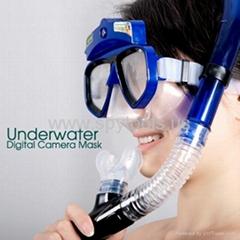 4GB Underwater Scuba Mask Camera Resolution 1280x960