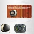 Digital Door Peephole Viewer 150 degrees Cam 2.5inch LCD 4