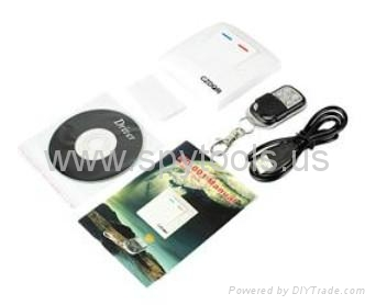 Wall Switch Style Motion-activated Spy Digital Remote DVR Camcorder Video Record 3