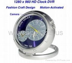 CMOS HD Spy Clock Camera