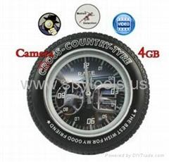 Spy Clock Camera with Mo