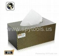 Tissue Box Style Spy Cam