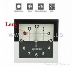 Square Clock Style Spy V