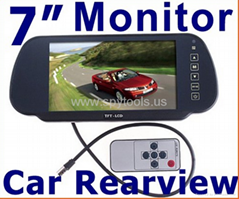 "7"" Color TFT LCD Car Rea"